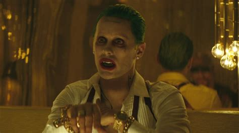 Jared Leto Dons A Tuxedo As The Joker In Squad Iphone jared leto is upset about how many joker were cut