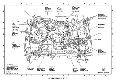4 6 ford engine diagram 4 6 liter ford engine heads wiring diagram and fuse box