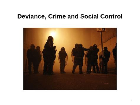 Crime And 1 deviance crime and social 1 learning