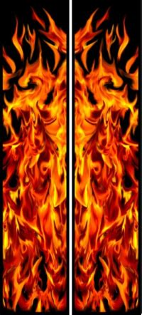 3d Flammen Aufkleber by Custom Flame Fire And Tribal Decals And Stickers