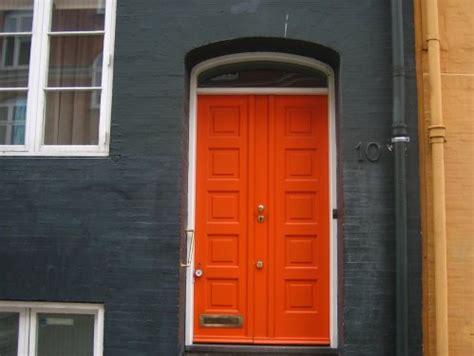 orange front doors front door freak