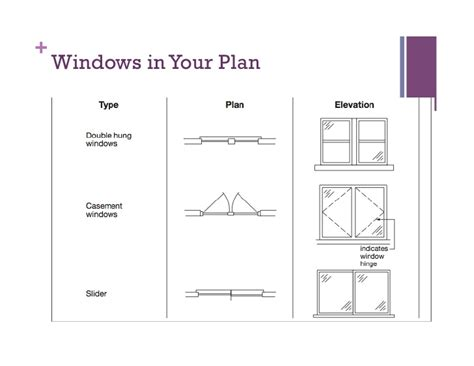window in plan floor plans