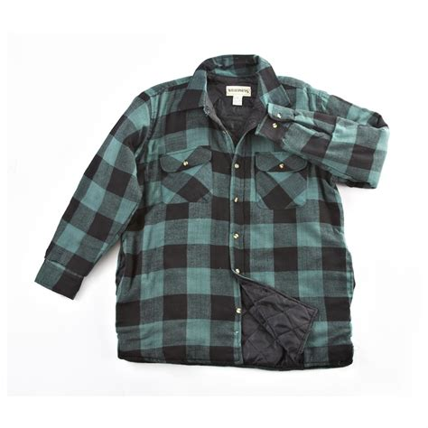 Plaid Shirt Jacket insulated plaid shirt jacket 187152 shirts at sportsman