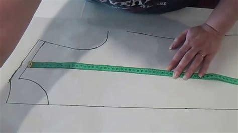 como cortar una falda de cola flamenca youtube transformacion de patron para hacer el vestido escote