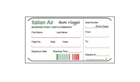 16 real fake boarding pass templates 100 free