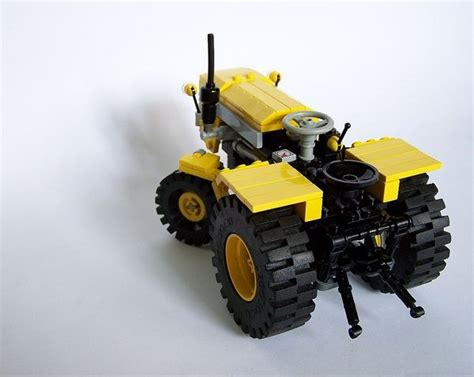 lego tractor tutorial tractor made of legos cars motorcycles airplanes big