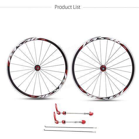 Pasak Aluminium pasak 700c ultra light road bicycle wheel front rear