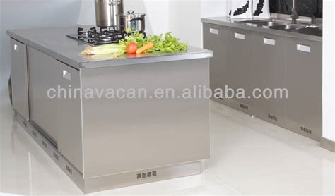 stainless steel kitchen cabinets manufacturers 2017 new design 304 stainless steel kitchen cabinet from