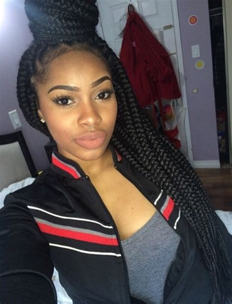 poetic justice braid bun techniques 65 box braids hairstyles for black women