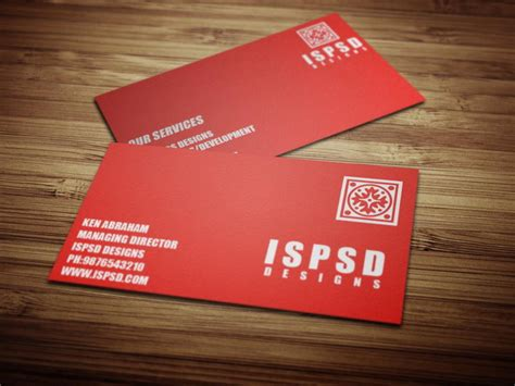 20 free psd business card templates download