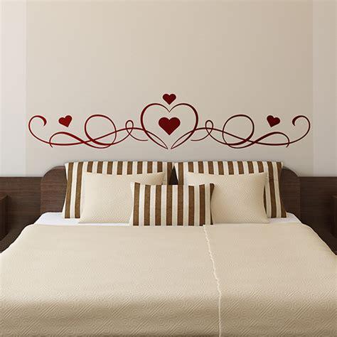 headboard wall stickers bed headboard wall stickers muraldecal