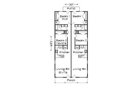 Narrow Lot Duplex Plans by Duplex Plans For Narrow Lots Joy Studio Design Gallery