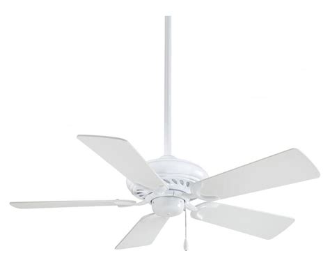 white ceiling fan blades minka aire white 5 blade 44in ceiling fan blades included