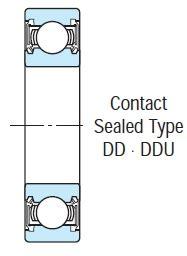 Bearing 6306 Ddu Nsk 6000 6307 2rs ddu series rubber sealed bearings