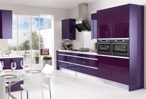 purple kitchen design 15 high gloss kitchen designs in modular kitchen colours
