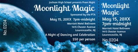 prom tickets best ticket printing