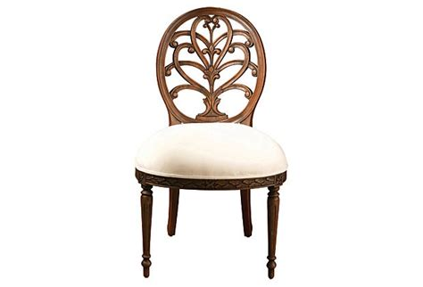Spider Back Chair by Spider Back Side Chair White Walnut