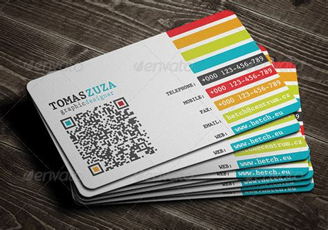 business card with qr code template hikayat seorang pereka grafik picisan sumber inspirasi