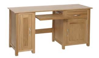 Oak Computer Desk Felton Oak Computer Desk Gosforth Furniture