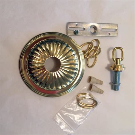 Canopy Chain Kit Brass King S Chandelier Co Chandelier Mounting Plate