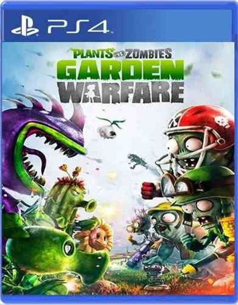 Plants Vs Zombies Garden Warfare Ps4 plants vs zombies garden warfare cover ps4