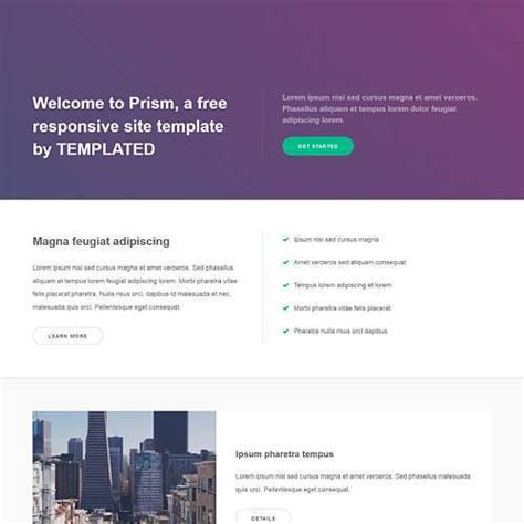 free css responsive templates templated free css html5 and responsive site templates