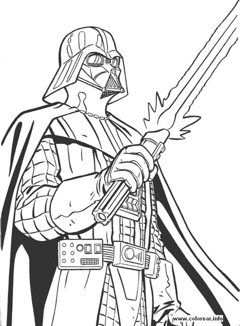 Printable Coloring Pages Wars wars 04 wars printable coloring pages for