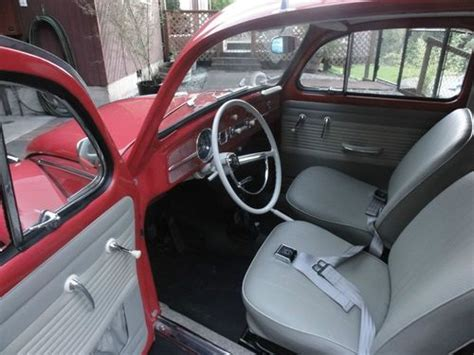 find  vintage volkswagen vw rag top  beetle high performance engine beautiful  puyallup