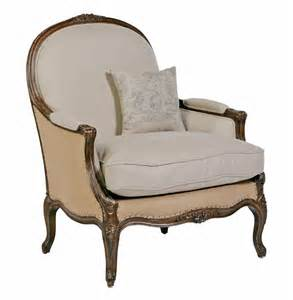 accent chair oversized country burlap linen bergere accent