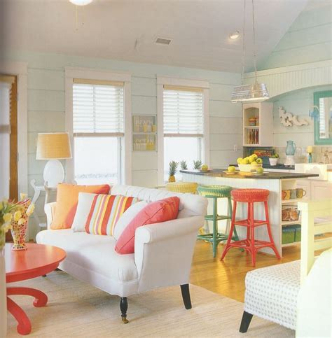 bright color home decor 81 best cottage bunkie decor love images on pinterest