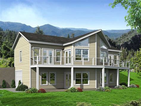 Lakefront House Plans Sloping Lot by Lakefront House Plans Sloping Lot