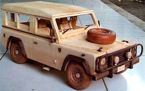 Wooden Jeep Wooden Jeep