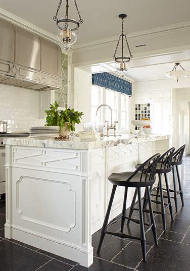 kitchen island trim transitional kitchen phoebe howard
