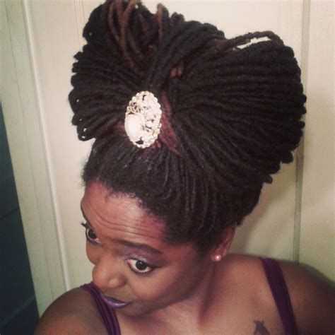 Loc Updo Hairstyles by Easy And Gentle Updos For Locs Curls Understood