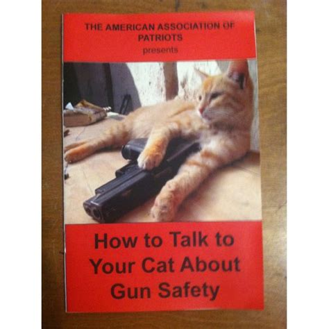 how to your to speak how to talk to your cat about gun safety