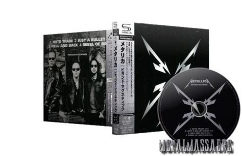 Cd Metallica Magnetic Made In Japan metallica beyond magnetic ep shm cd japanese