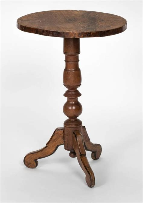 Small Pedestal Table by Small Pedestal Side Table At 1stdibs