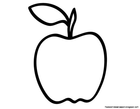 apple clipart coloring page apple green art free best hd wallpapers