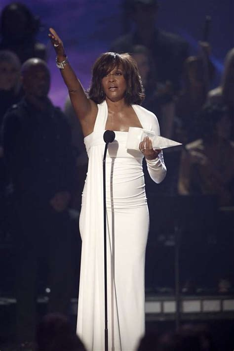 file whitney houston 21st american music awards february whitney houston dead at 48 sfgate