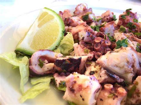 ricette per cucinare il polipo insalata di polpo prezzemolata cucinare it