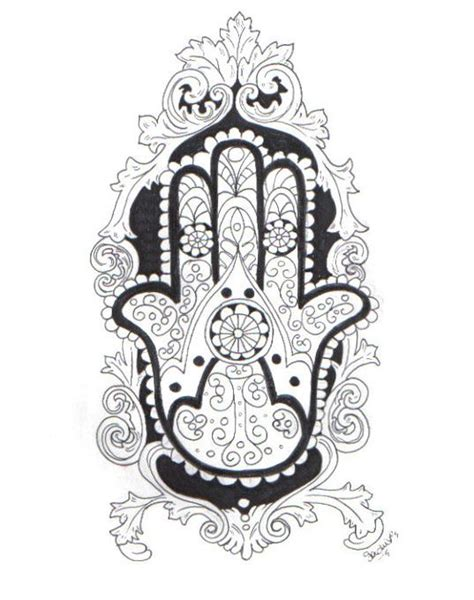 fatima s hand henna tattoo fatima s hamsa by sachiyo993 on deviantart