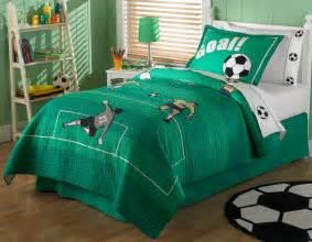 Soccer Bed Set Soccer Quilt Bedding Set With Optional Soccer Sheet Set And Valance