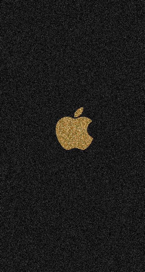 gold glitter apple iphone wallpapers pinterest