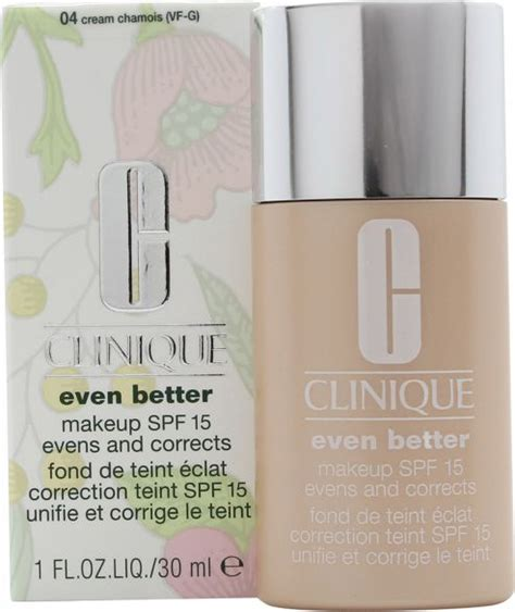 clinique even better foundation 04 chamois buy clinique even better makeup spf15 30ml 04