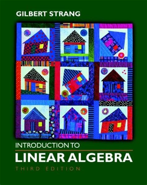 numerical linear algebra an introduction cambridge texts in applied mathematics books introduction to linear algebra third edition