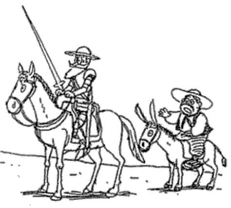 imagenes para colorear miguel de cervantes saavedra personajes cervantinos 1 170 parte 171 alc 225 zar cervantino
