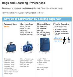 United Airlines Check In Baggage Fee jetblue carry on baggage size restrictions