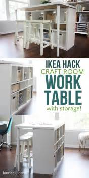 craft room table best 25 craft desk ideas on diy crafts table
