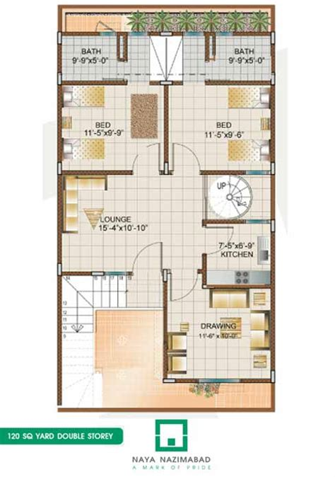 120 yard home design bungalows naya nazimabad