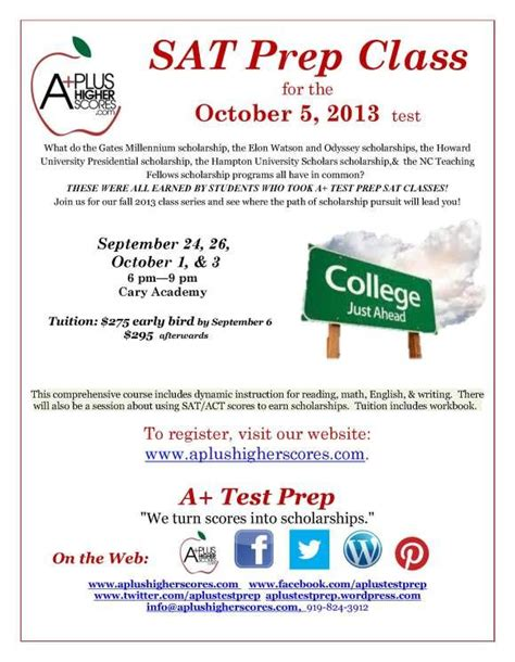 gre math prep course s gre prep course books sat prep flyer fall 2013 getting ready for college